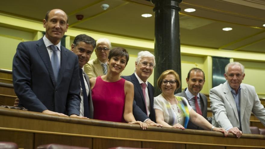 Los siete diputados del PSOE por Castilla-La Mancha