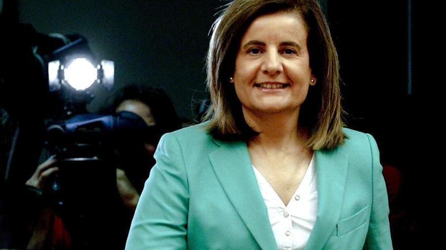 La ministra de Trabajo, Fátima Báñez. \ EFE