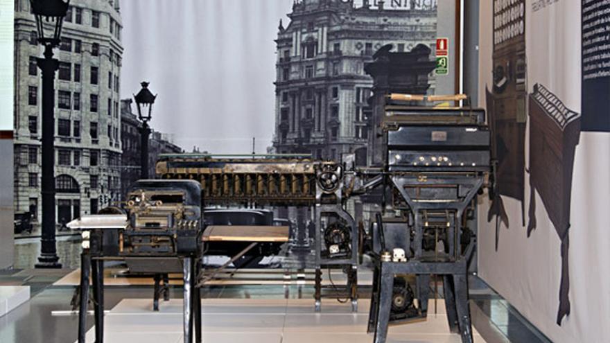 Máquinas tabuladoras Samas de principios del siglo XX