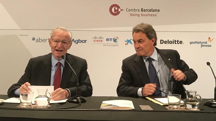 """Mas cree que el Estado negociará con Catalunya """"sí o sí"""" si hay fuerza social y política"""