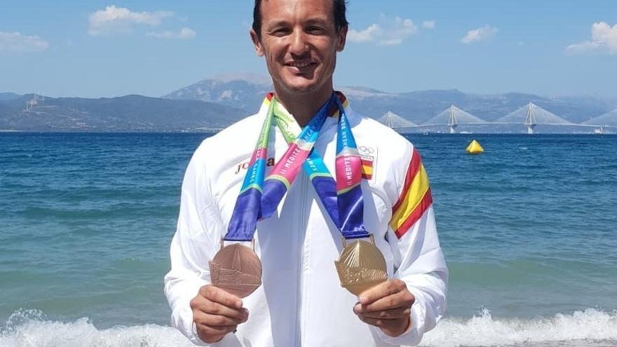 Remo: Doblete en los Juegos Meditarráneos de playa
