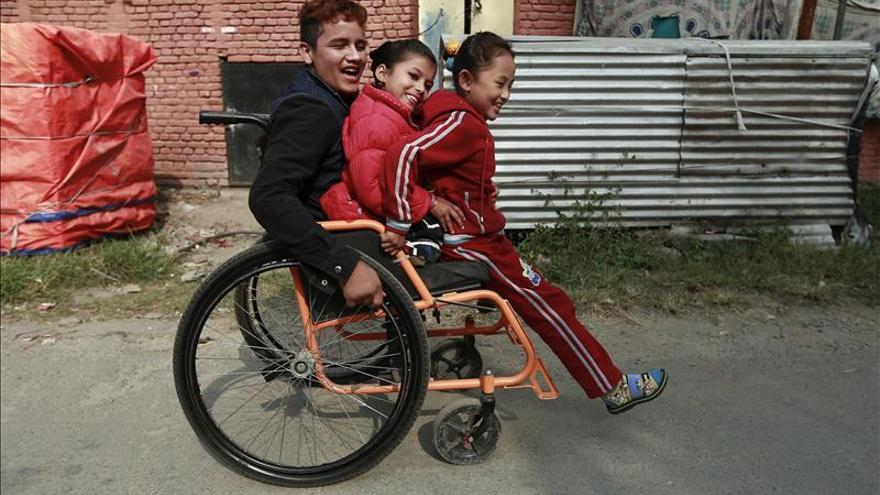 Los niños discapacitados están más expuestos al maltrato, según la UE