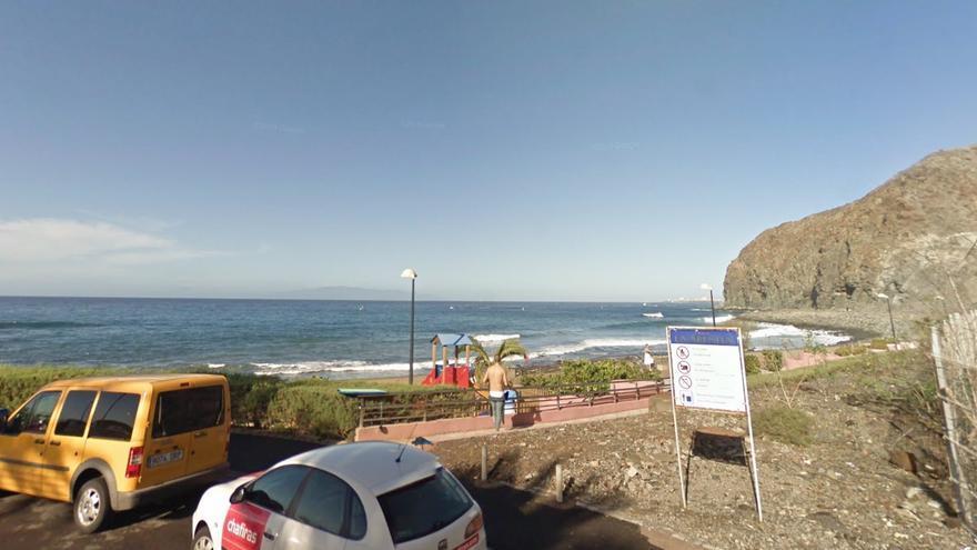 Costa de El Palm-Mar, en Arona