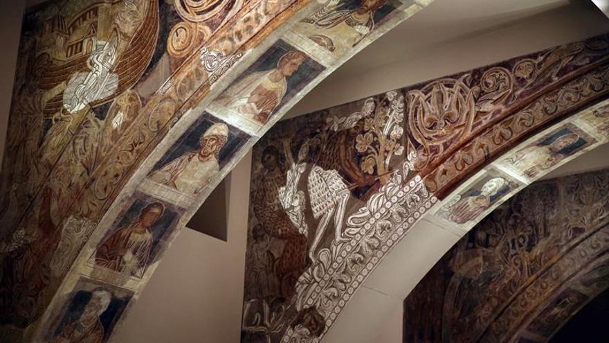 El MNAC se opone a la devolución provisional de las pinturas de Sijena