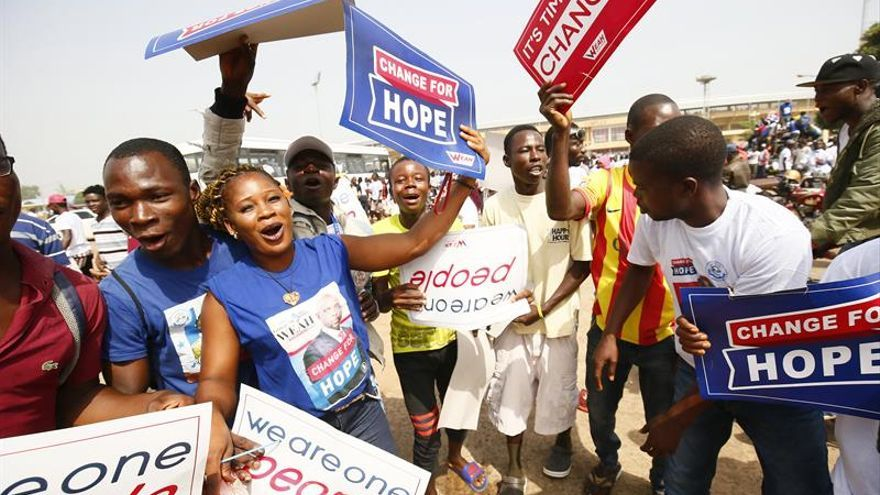 Los liberianos acuden hoy a las urnas para elegir nuevo presidente