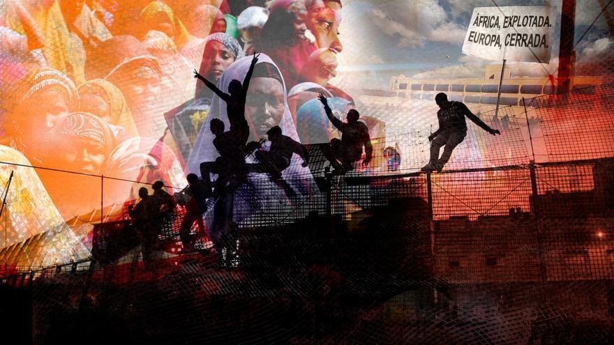Fotograma del webdoc H-A-M-B-R-E. Lo que se ve, lo que se esconde