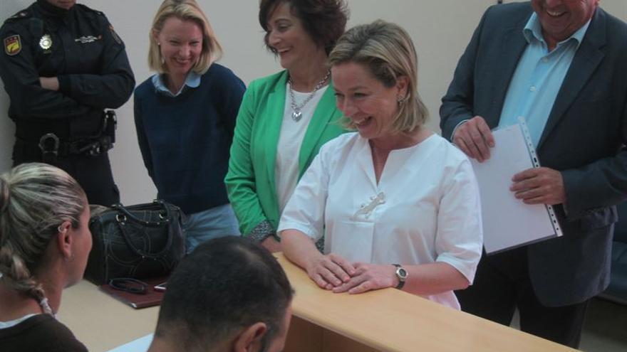 La cabeza de lista de Coalición Canaria (CC) al Congreso de los Diputados por la provincia de Santa Cruz de Tenerife, Ana Oramas.