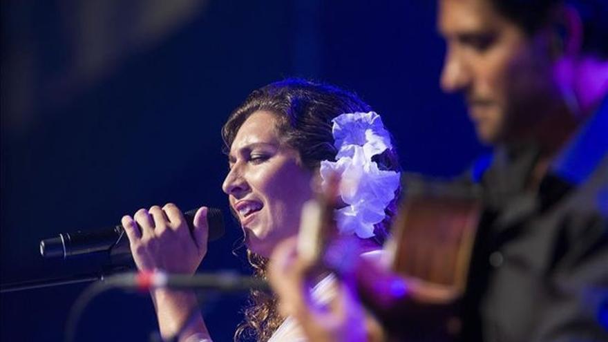 En la imagen, Estrella Morente y El Niño Josele.