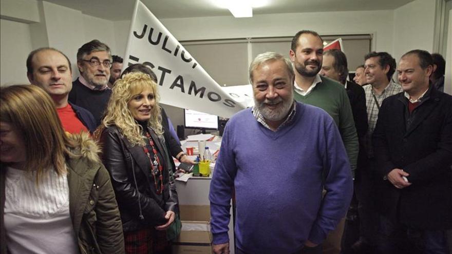 Julio Sacristán, nuevo secretario general del PSOE de A Coruña