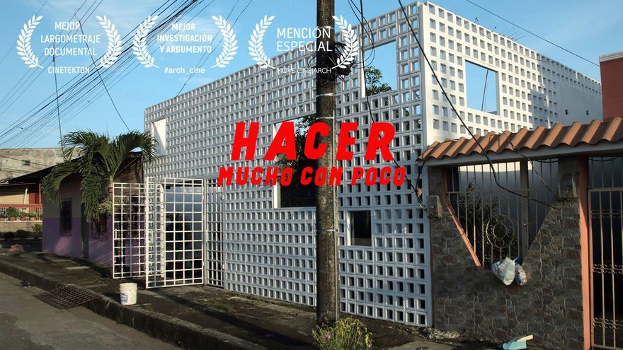 Cartel del documental 'Hacer mucho con poco'.
