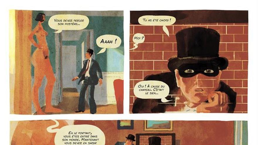 Esto no es un cómic de Magritte