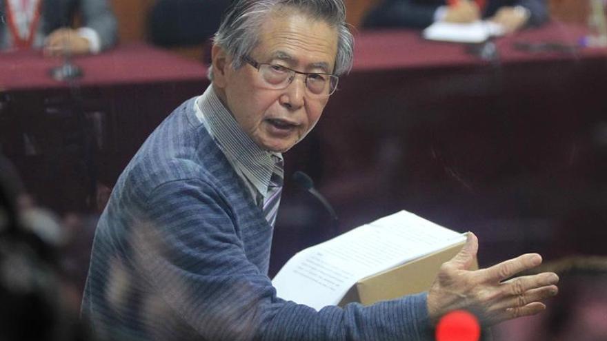 Llevan a Fujimori a la clínica por una recaída de los males crónicos que sufre en la cárcel