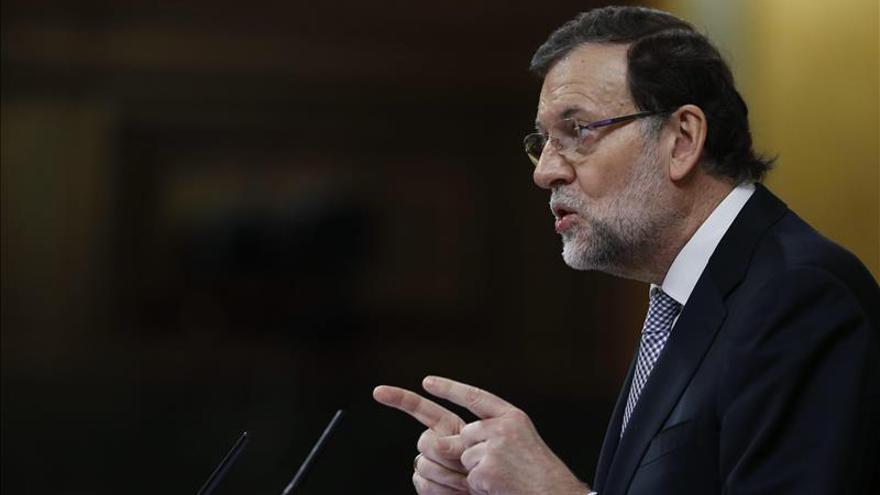Mariano Rajoy participa en Sevilla en un acto de precampaña de las elecciones andaluzas