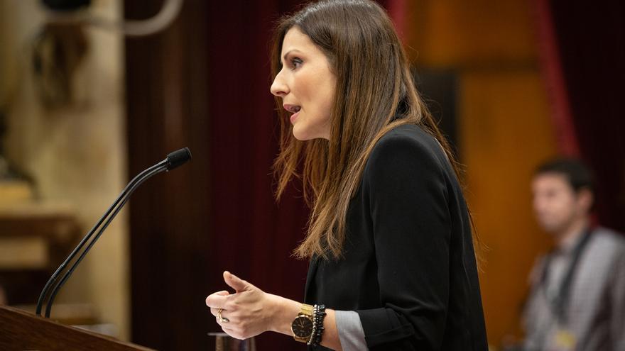 Lorena Roldán defiende las destituciones realizadas por la Gestora de Ciudadanos y dice que no generan controversia