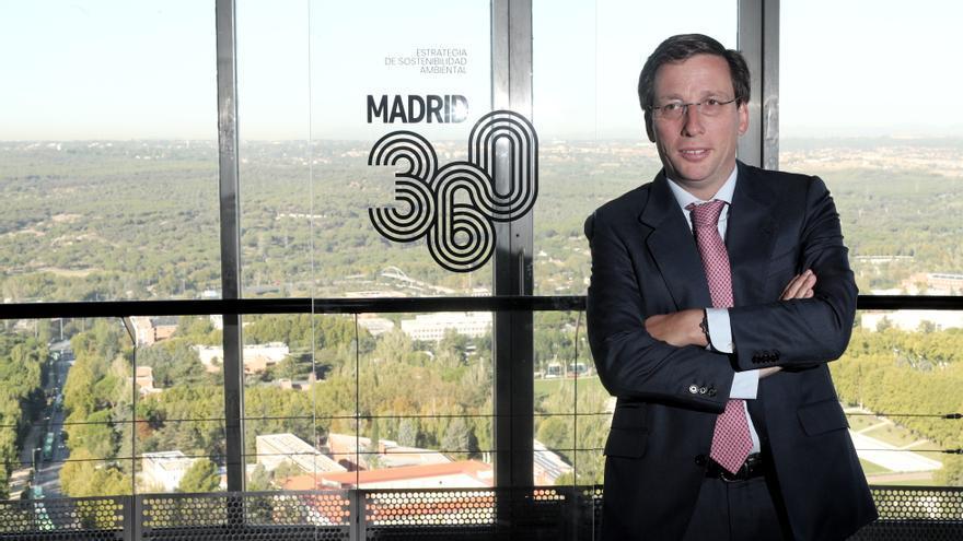 José Luis Martínez-Almeida, antes de la presentación de Madrid 360. / Eduardo Parra / Europa Press
