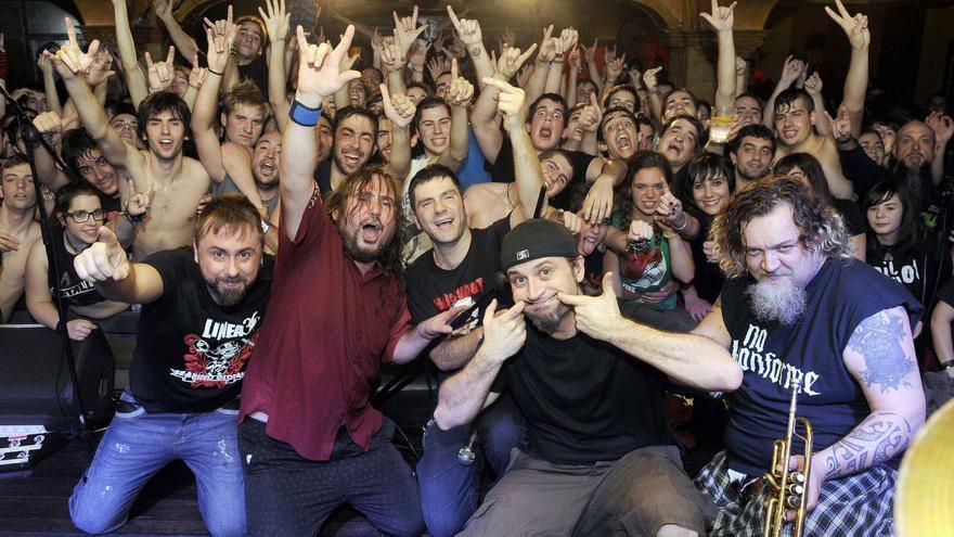La banda de punk Boikot