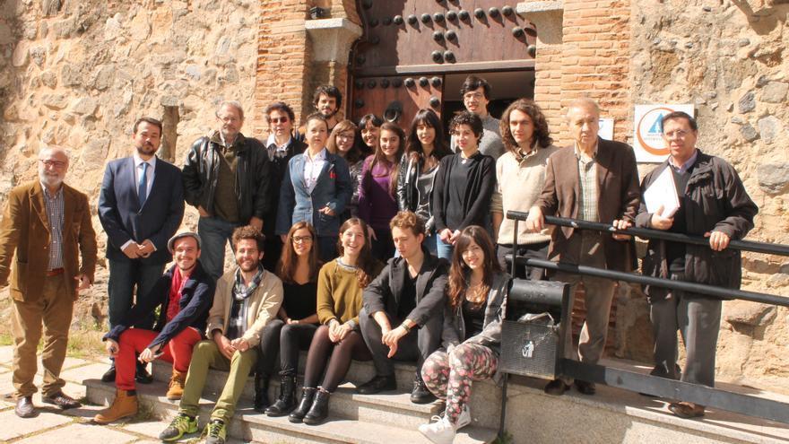 Participantes del III Encuentro Nacional de Jóvenes Creadores / Biblioteca CLM