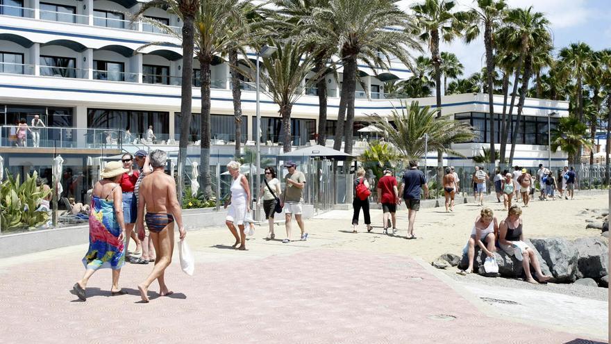 Canarias sólo recibió 2.201 visitantes extranjeros en el mes de junio