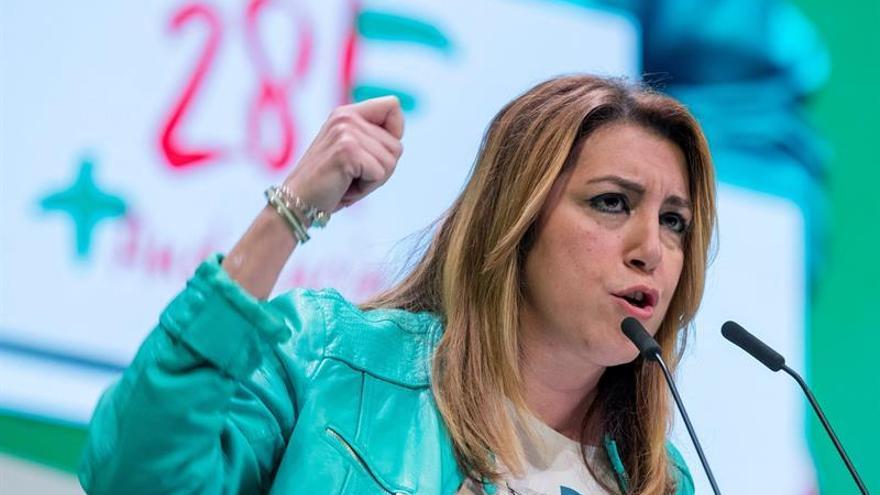 Susana Díaz: La izquierda no puede ser jamás nacionalista