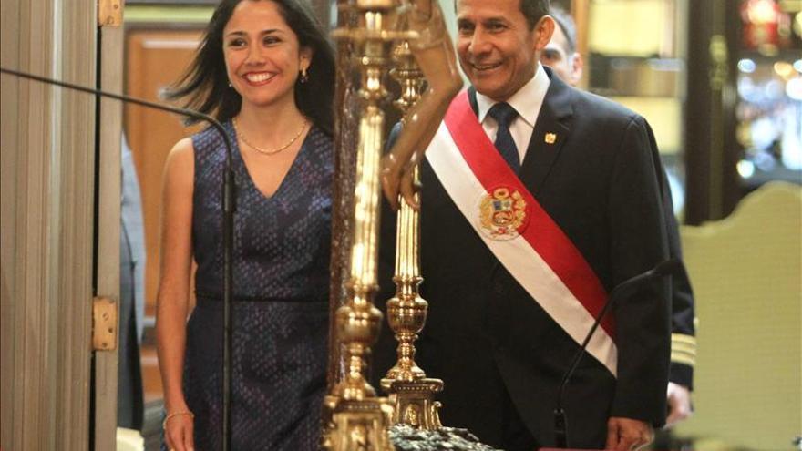 """La oposición afirma que Humala ha relanzado la idea de la """"reelección conyugal"""""""