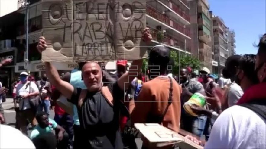 """""""Manteros"""" de Buenos Aires, en pie de guerra para que permitan su actividad"""