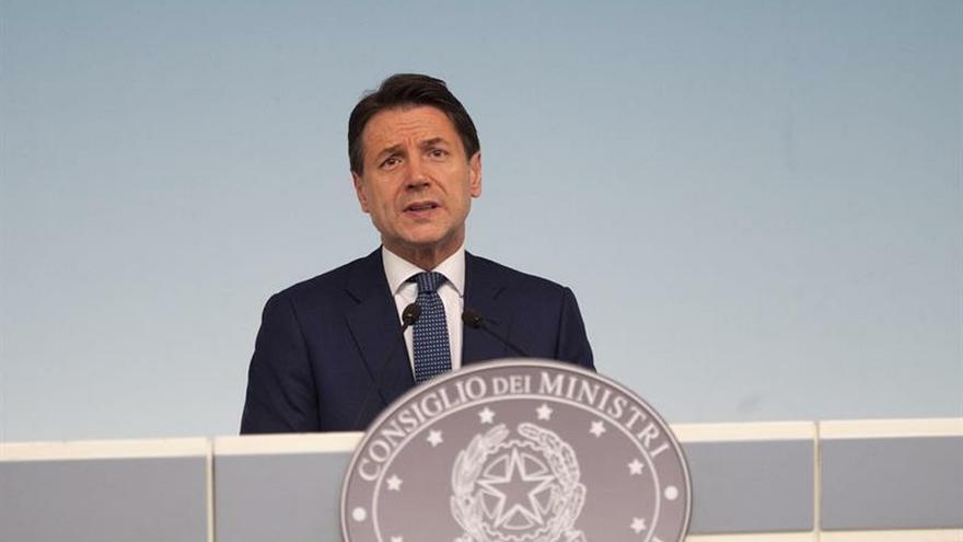 Los partidos italianos ponen fecha a la moción de censura del Gobierno de Conte