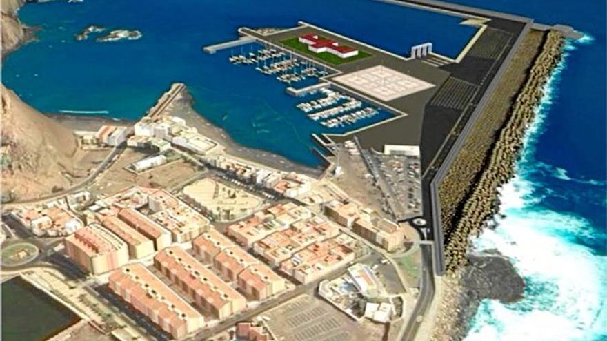 Proyecto de ampliación del Puerto de Las Nieves