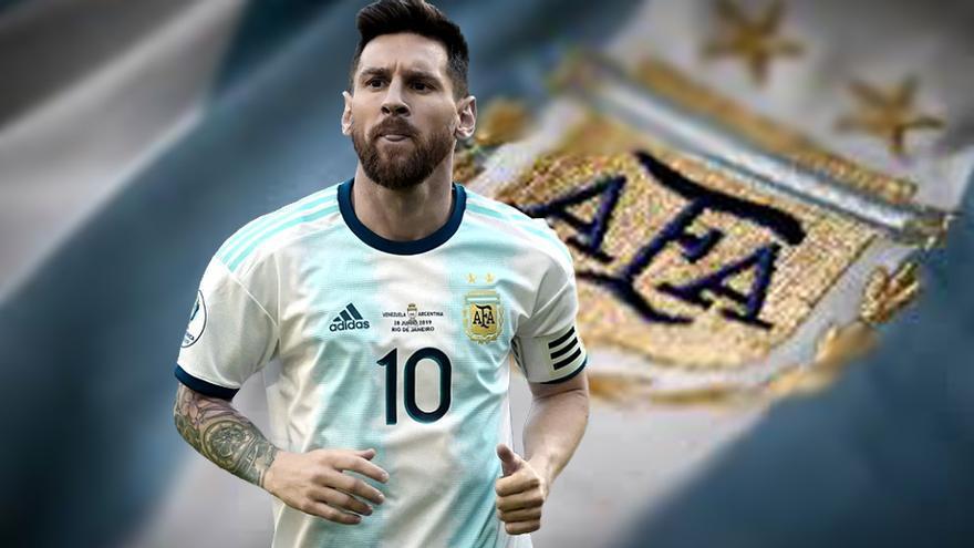 Lionel Messi podría ser excluido del seleccionado argentino si participa de la nueva Superliga Europea