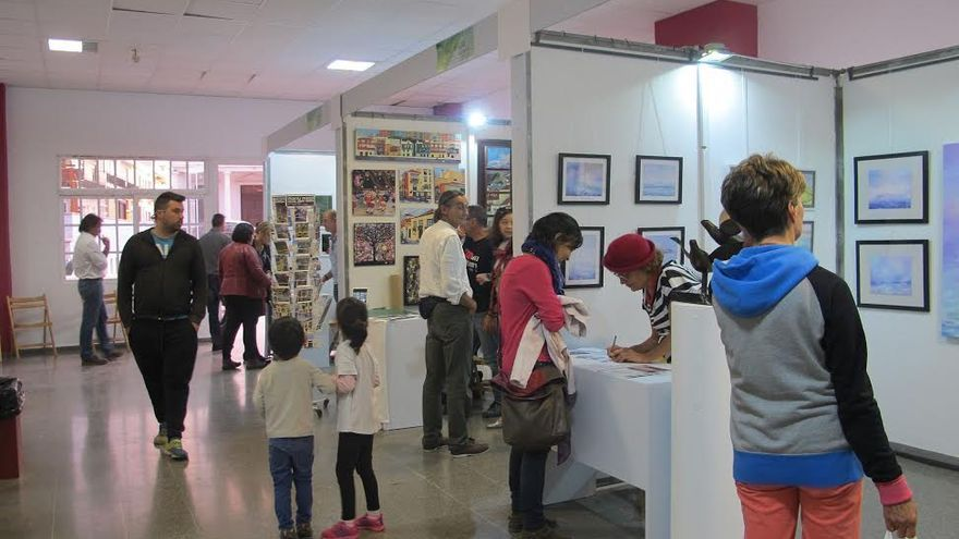 En la imagen, Feria de Arte Liberarte.