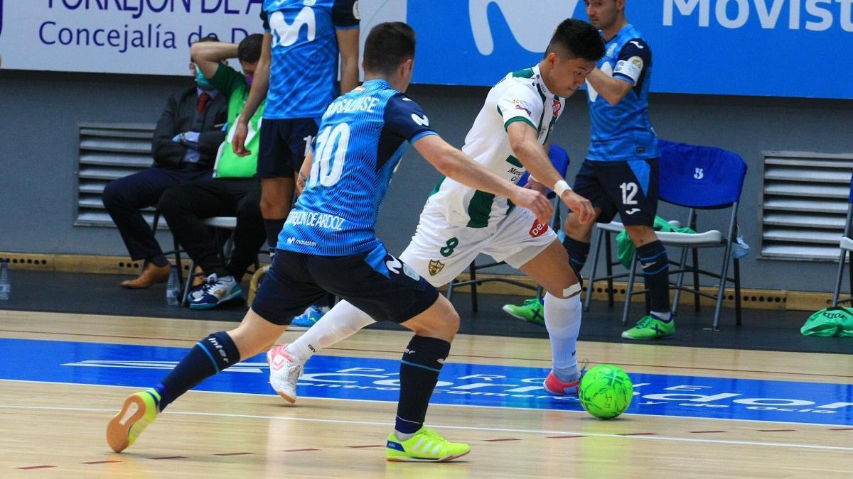 Shimizu, en el duelo con el Movistar Inter.