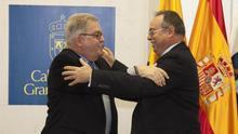 Firmado el convenio para acabar la circunvalación de la capital grancanaria