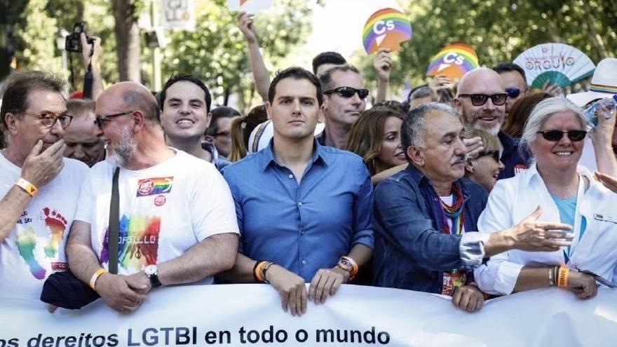 """Albert Rivera: """"Madrid es hoy la capital del mundo, del orgullo, de la igualdad y de la libertad"""""""