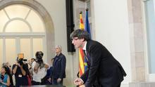El documento firmado por los diputados independentistas no se publicará en el Diario Oficial de la Generalitat