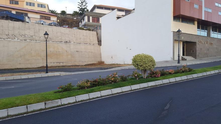 Ubicación de la futura residencia de mayores de Villa de Mazo.