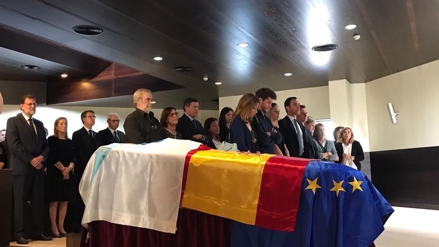 """La familia popular despide al """"humanista"""" Fernández Albor, que será homenajeado el 23 de julio en la Catedral"""