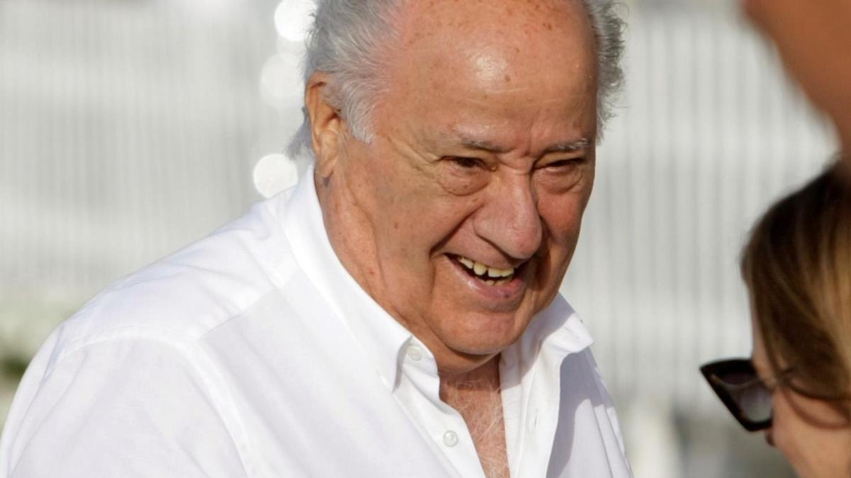 En la imagen, el empresario español Amancio Ortega. EFE/Cabalar/Archivo