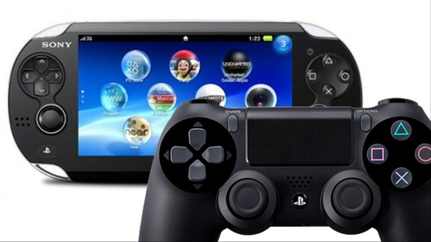 Playstation 4 y playstation vita