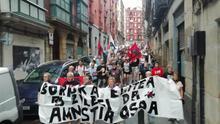 """Movimiento Pro Amnistía pide que se excarcele a presos de ETA, """"los que más dieron por la liberación nacional vasca"""""""