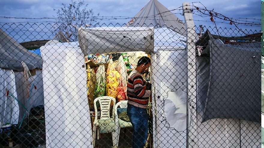 Campo de refugiados Osmaniye Cevdetiye, en Turquía