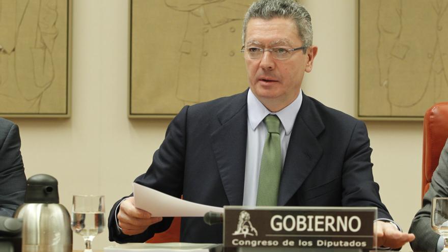 """Gallardón llama a los españoles a confiar """"plenamente"""" en la """"independencia"""" del Poder Judicial"""