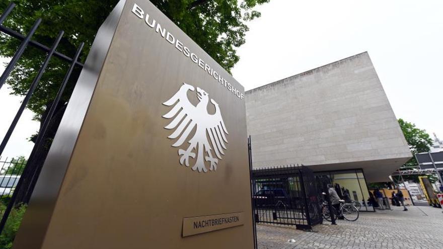 Corte Federal de Justicia en Karlsruhe, Alemania.