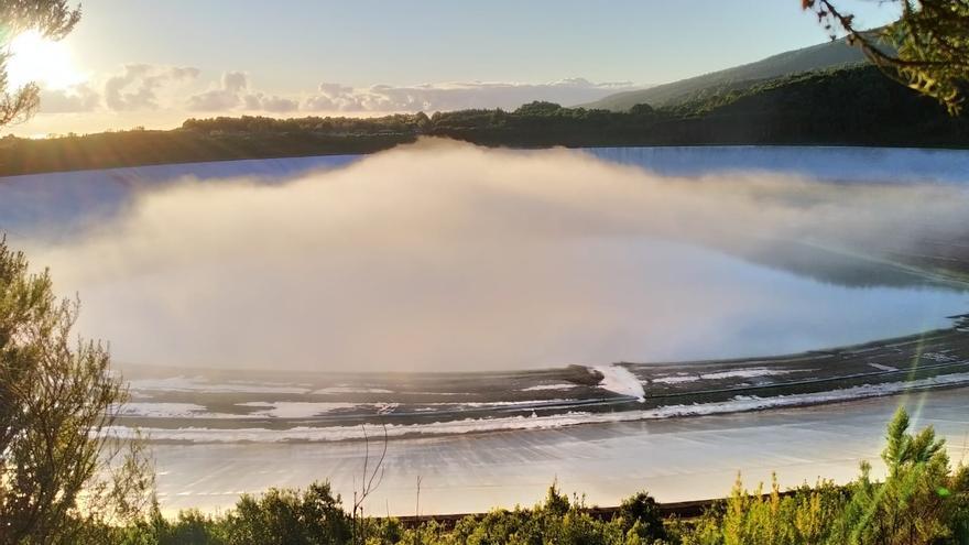 Otra imagen de La Laguna de Barlovento, en la actualidad.
