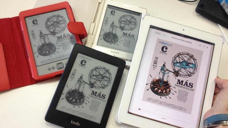La revista Cuadernos número 2 en sus diferentes versiones digitales