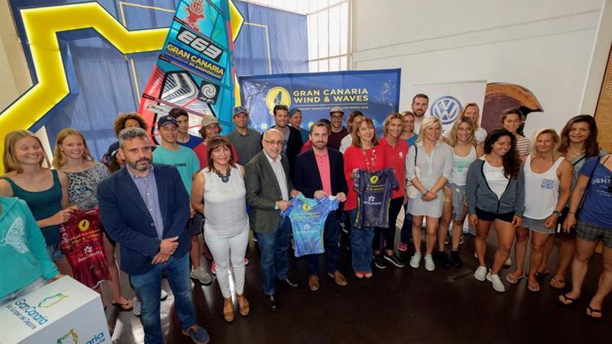 Presentación del Campeonato del Mundo de Windsurf de Gran Canaria