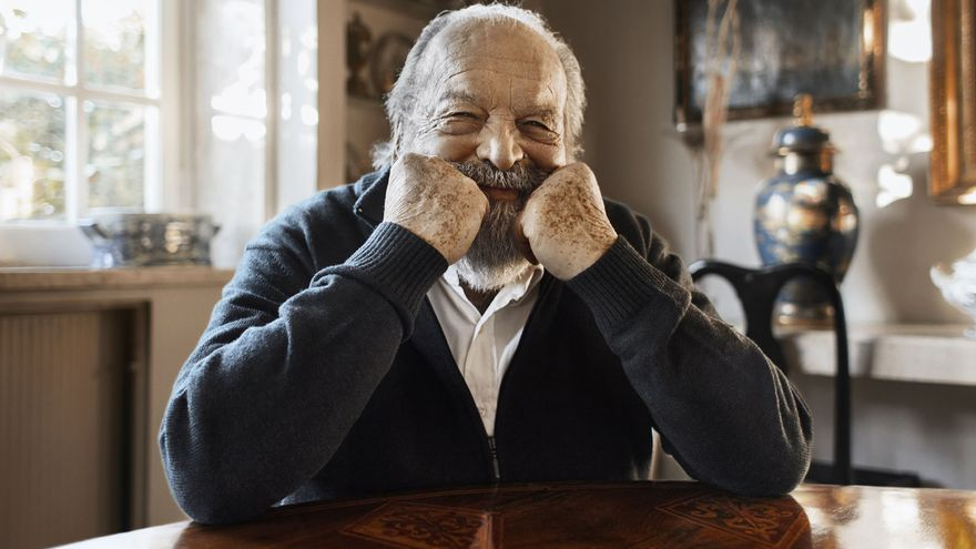 Muere Bud Spencer. Foto: web del actor.