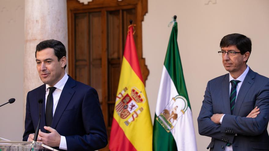 Moreno y Marín harán balance este martes del cumplimiento de las medidas para los primeros 100 días de gobierno