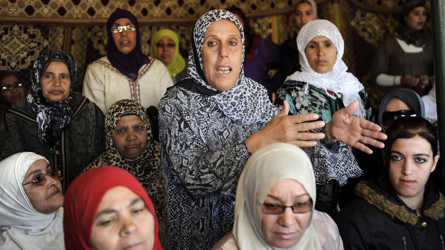Reunión en Marruecos de Naciones Unidas para conmemorar el día internacional de los derechos de la mujer, 8 de marzo de 2012. Copy: UN Women/Karim Selmaoui