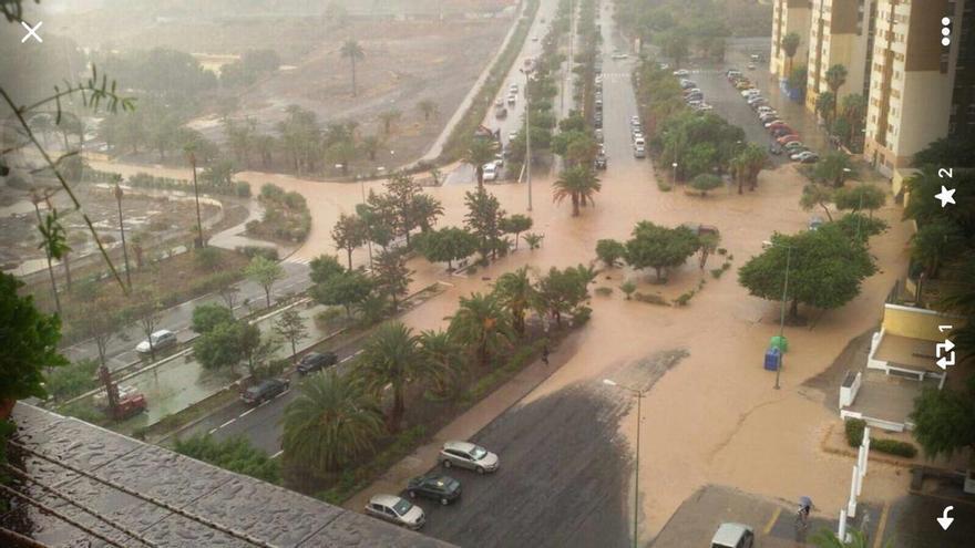 Inundaciones en Gran Canaria.