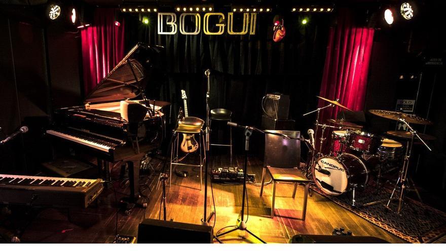 Escenario de Bogui Jazz | ERNESTO CORTIJO BALLESTEROS