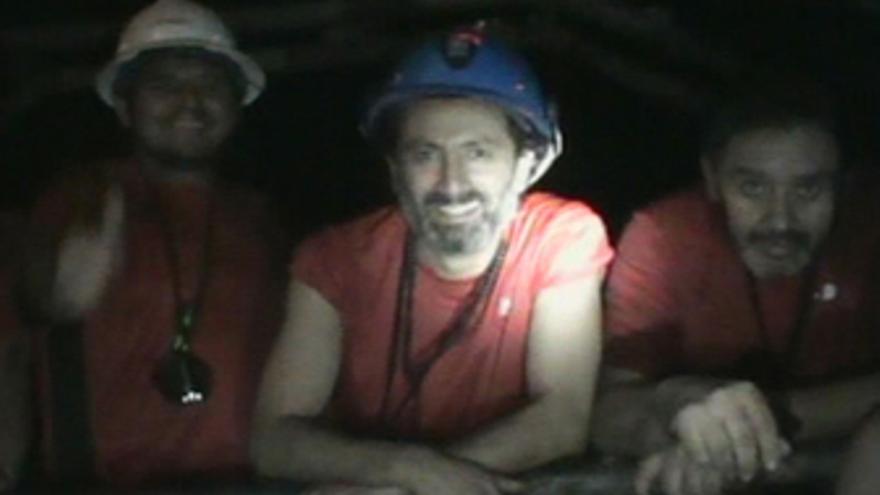 Mineros atrapados en una mina de Chile
